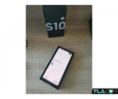 Vand/schimb Samsung s10 plus Prism white nou neactivat 0 minute